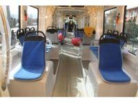 Akçaray'ın ilk tramvay aracı raylara indi