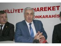 """MHP'li Günal: """"AK Parti idamı getirirse ilkeli bir parti olarak destek veririz"""""""