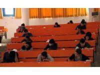 Alanya'da öğrencilere YGS provası