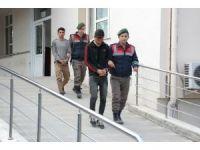 Torbalı'da inşaata giren hırsızlar suçüstü yakalandı