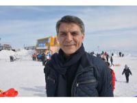 Kaymakam Özkan'dan Nemrut Kayak Merkezine ziyaret
