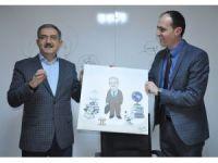 Rektör Şahin, üniversite ve sanatı anlattı