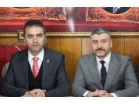 AK Parti İl Başkanı Doğanay, MHP İl Başkanı Evcil'i ziyaret etti