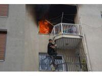 Söke'deki yangında korkulu anlar yaşandı