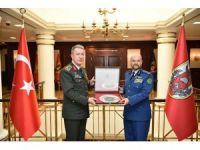 Orgeneral Akar, Suudi Korgeneral Alruwaılı ile bir araya geldi