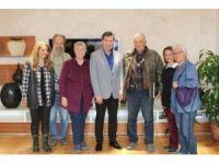 Gümüşlük Forumu'ndan Başkan Kocadon'a ziyaret