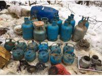 Bingöl'de teröristlerin 5 sığınağı daha ele geçirildi