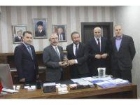 Başkan Doğan Mardin Büyükşehir Beleyesi'ni ziyaret etti