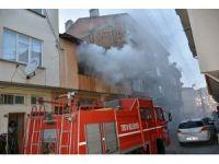Tosya'da ev yangını