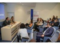 Açıköğretim öğrencileri medya sektörü temsilcileriyle buluştu