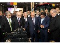 Başbakan Yardımcısı Şimşek ve Milli Savunma Bakanı Işık, SANKO standını inceledi