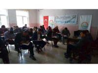 Aslanapa'da sertifikalı çobanlık kursu