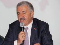Ulaştırma, Haberleşme ve Denizcilik Bakanı Arslan: