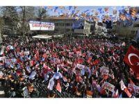 Ankara Büyükşehir Belediye Başkanı Gökçek Çubuk'taki mitingde konuştu