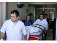 Samsun'da iş kazası