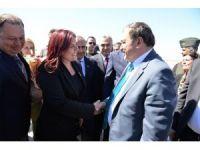 Başkan Çerçioğlu, Bakan Eroğlu'nu karşıladı