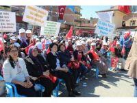 """Bakan Eroğlu Aydın'da vatandaşlara seslendi: """"Evet deme sırası sizde"""""""