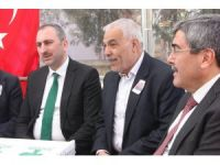 Milletvekili Gül'den şehit evine taziye ziyareti