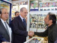 Başbakan Yardımcısı Kurtulmuş Adıyaman'da esnafı gezdi