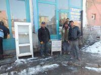 Malazgirt Belediyesinden 'kül konteyneri' dağıtımı