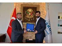 """ASKON Adana Şube Başkanı Çalışkan: """"İşbirliği alanları ve projeler üretiyoruz"""""""