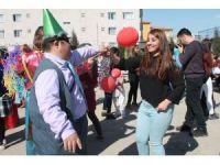 Silopi'de Down sendromu çocuklar için etkinlik