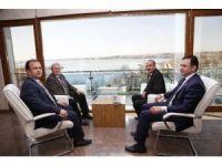 Türkiye Kürek Federasyonu Başkanı İşseven'den, Gölbaşı Belediye Başkanı Duruay'a ziyaret