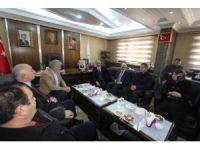 Cumhurbaşkanı Başdanışmanı Topçu'dan Başkan Memiş'e ziyaret