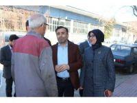 AK Parti heyeti Meram'da referandum çalışmalarını sürdürdü