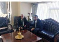 Rektör Çomaklı'dan Milli Eğitim Müsteşarı Yusuf Tekin'e Ziyaret