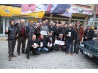 AK Parti Trabzon milletvekilleri referandum çalışmalarını sürdürüyor