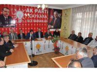AK Parti İl Başkanı Revi Çaykara'da anayasa değişikliğini anlattı