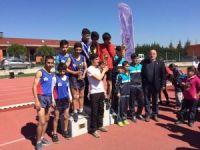 Yunusemre'den atletizmde rekor başarı
