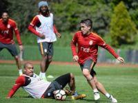 Galatasaray, Adanaspor maçı hazırlıklarını sürdürdü