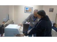 İzmit'te emeklilerin kemik ölçümleri yapılıyor