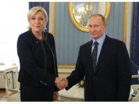 Marine Le Pen, Moskova'yı ziyaret etti