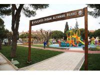Yenilenen İhsan Alyanak Parkına anlamlı açılış