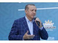 """Cumhurbaşkanı Erdoğan: """"'Ben oraya gitmeyeceğim' dedi malum zat. Sonra kuzu kuzu geldi """""""
