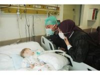 Aytemiz Alanyaspor'dan Eymen bebeğe destek