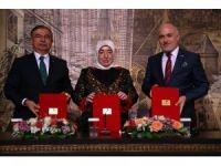 """Başbakan'ın eşi Semiha Yıldırım, """"81 İlde 81 Anaokulu"""" projesinin startını verdi"""