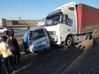 Bismil'de trafik kazası: 3 yaralı