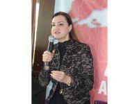 AK Parti'li Hotar, Aydın'da kadınlarla buluştu