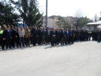 Kalbine yenik düşen gazi polis memuruna tören düzenlendi