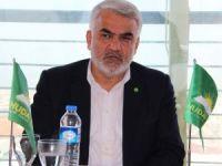 HÜDA PAR Genel Başkanı Manisa'da 'evet' istedi