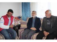 Taner Yıldız, Nevşehir'de şehit ailesini ziyaret etti