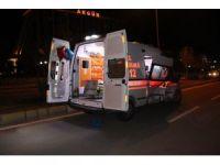 Elazığ'da ambulansla otomobil çarpıştı: 2 yaralı
