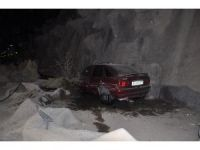 Otomobil şelaleye uçtu: 2 yaralı