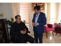 Alanya EAH'den Terör Gazisi Caner'e anlamlı ziyaret