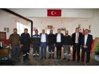 Başkan Duruay, Milletvekili Aydın ile esnafı ziyaret etti