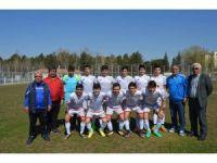 U15 futbol takımı bölge şampiyonu
